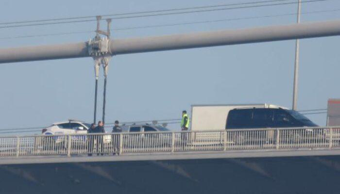 Fatih Sultan Mehmet Köprüsü'nde intihar!