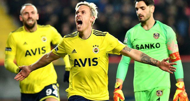 Fenerbahçe, Gaziantep'i 2-0 'la geçti
