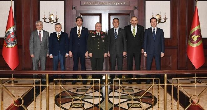 Fenerbahçe Yönetimi, Genelkurmay Başkanı Güler'i ziyaret etti