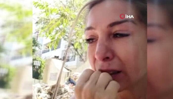 Fethiye'de gözyaşları içinde anlattı! Koronavirüs çığlığı