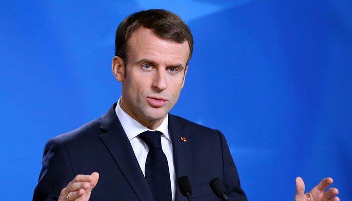 Fransa Cumhurbaşkanı Macron açıkladı! Fransa'da kreş, okul ve üniversiteler kapatılacak