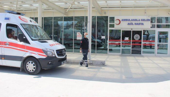 Fransa'da fişi çekilmek istenen hasta ambulans uçakla Konya'ya getirildi