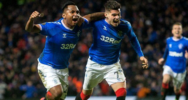 Glasgow Ranges, Ianis Hagi'nin 2 gol attığı maçta Braga'yı 3-2 yendi