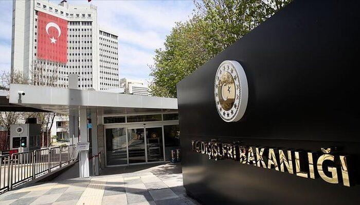 Güney Kıbrıs'taki skandal olaya Türkiye'den sert tepki