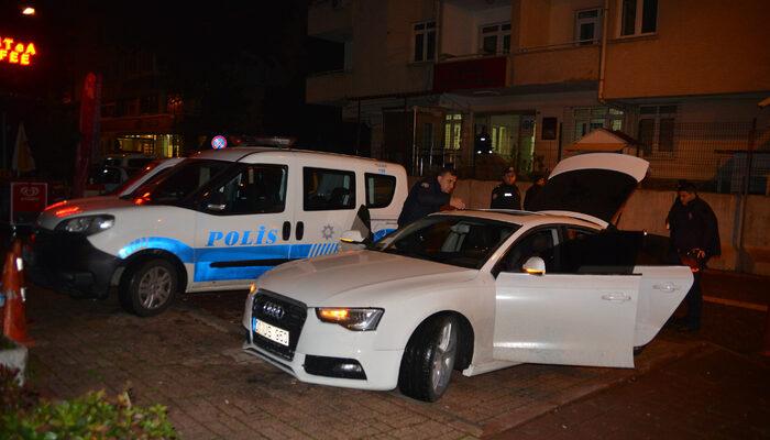 Havaya ateş açıp kaçan kişiyi polis yakaladı