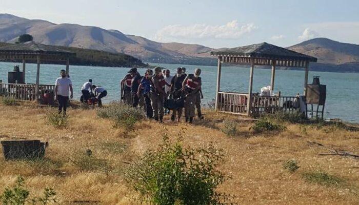 Hazar Gölü'ne giren Harun Güncü'den acı haber