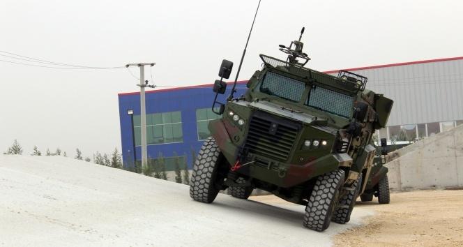 'Hızır 4x4 Taktik Tekerlekli Zırhlı Araçları'nın ikinci etap teslimatı tamamlandı