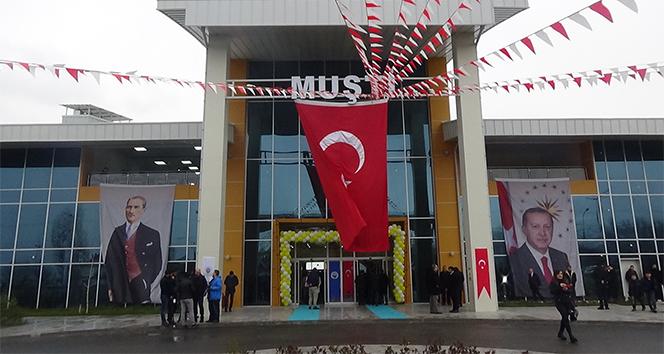 İçişleri Bakanı Soylu, MUŞTİ'nin açılışını yaptı
