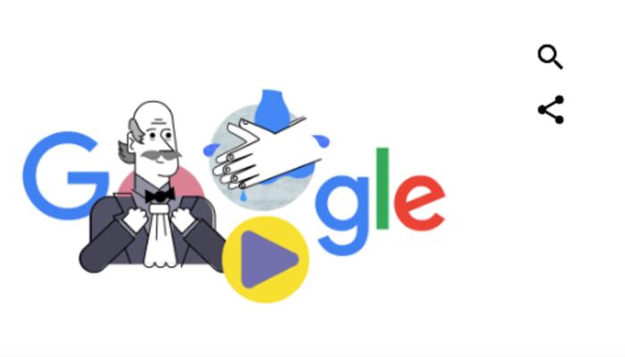 Ignaz Semmelweis kimdir? Google'dan Ignaz Semmelweis ve el yıkamalı Doodle