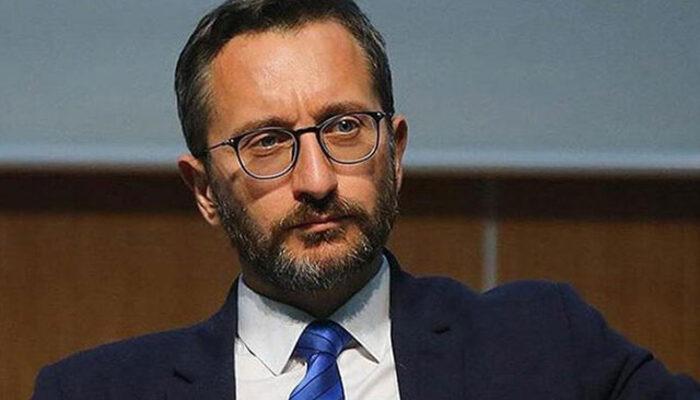İletişim Başkanı Altun'dan 'sosyal medya yasası' paylaşımı