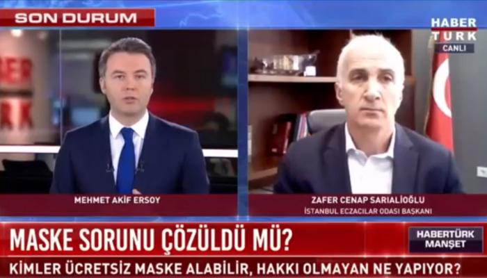 İstanbul'da kaç maske dağıtıldı? Canlı yayında açıkladı