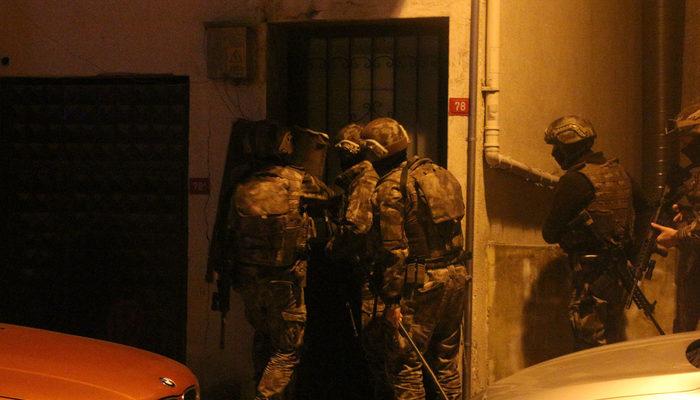 İstanbul'da silahlı suç örgütüne operasyon: Çok sayıda kişi gözaltına alındı