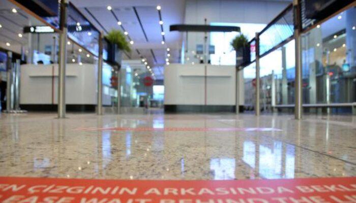 İstanbul Havalimanı'nda koronavirüs önlemi! Kırmızı bant uygulaması başlatıldı