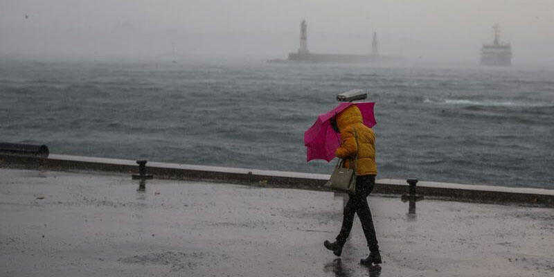 İstanbul için fırtına uyarısı! Öğlen başlayacak
