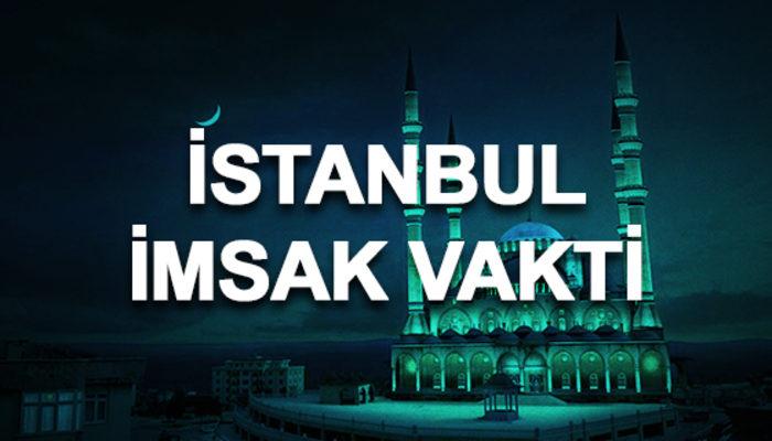 İstanbul imsakiyesi 2020: İstanbul sahur saati ve imsak vakti kaçta?