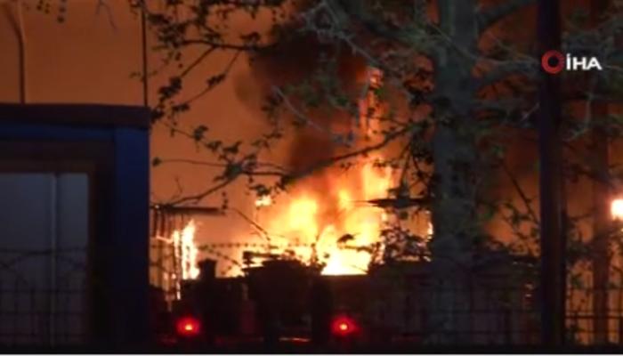 İstanbul Maltepe'de korkutan patlama! Trafo merkezi alev alev yandı