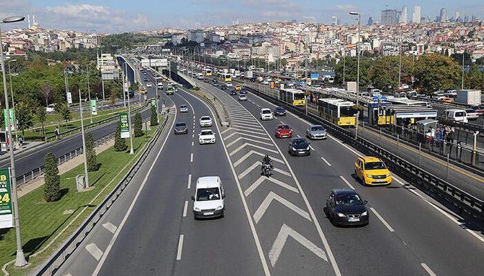 İstanbul trafiğine koronavirüs etkisi! Harita yeşile büründü