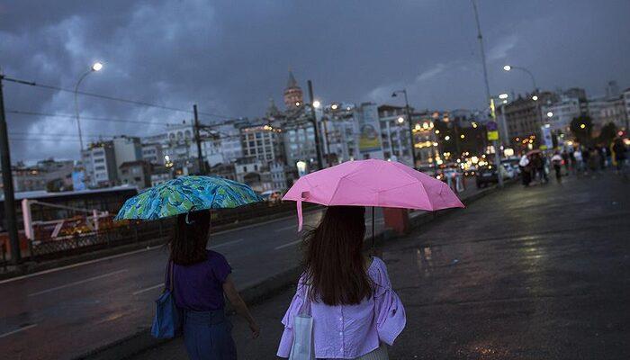 İstanbullular dikkat! Hafta sonu yağmur geliyor