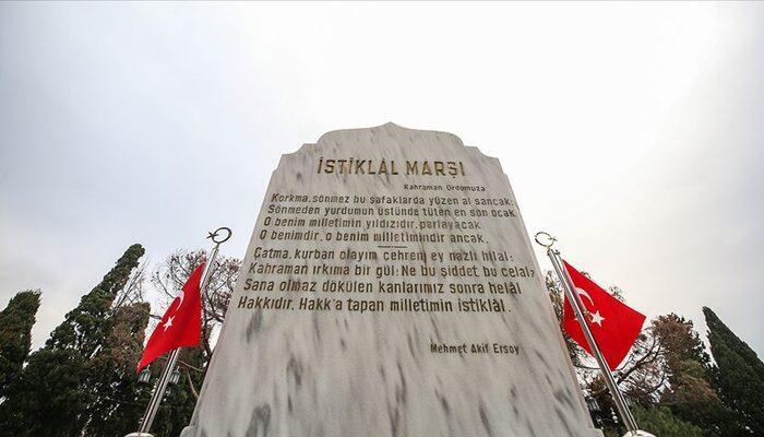 İstiklal Marşı'nın kabulünün 99. yıl dönümü kutlanıyor: İşte İstiklal Marşı'nın şiiri