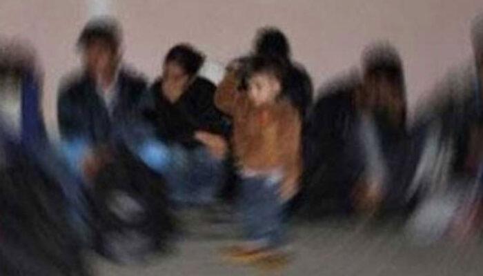 İzmir'de 20 düzensiz göçmen yakalandı