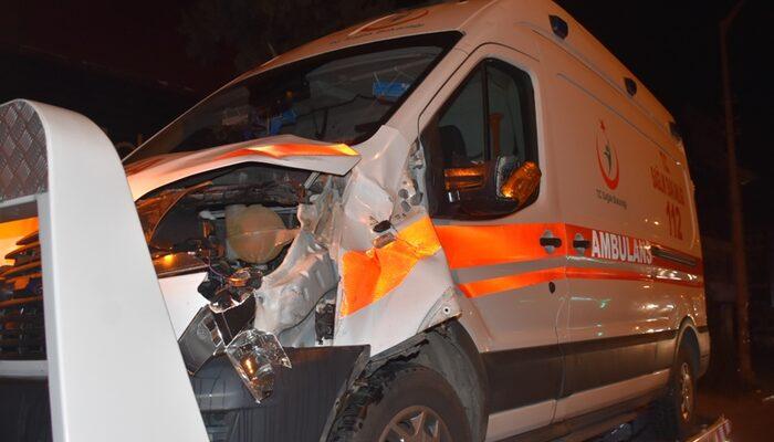 İzmir'de ambulansın çarptığı çift hayatını kaybetti
