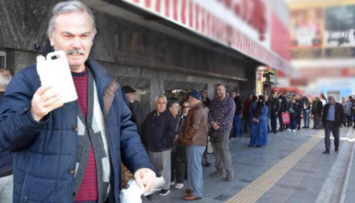 İzmir'de koronavirüs paniği! Kolonya için sıraya girdiler