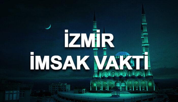 İzmir imsakiyesi 2020: İzmir sahur saati ve imsak vakti kaçta?