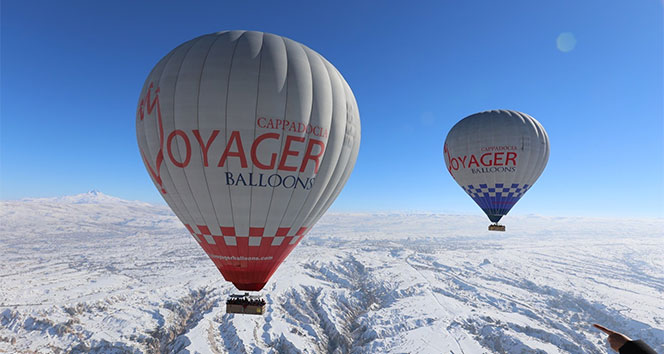 Kapadokya'da 6 gündür balon turları yapılamıyor