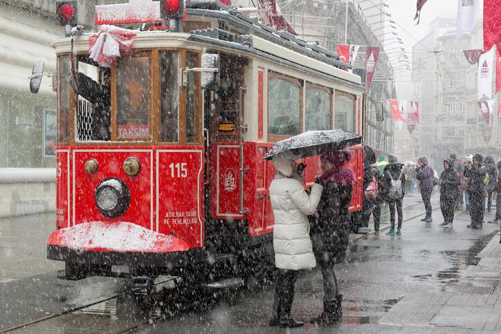 Kar ne zaman yağacak? İstanbul'a kar geliyor! İşte İstanbul hava durumu