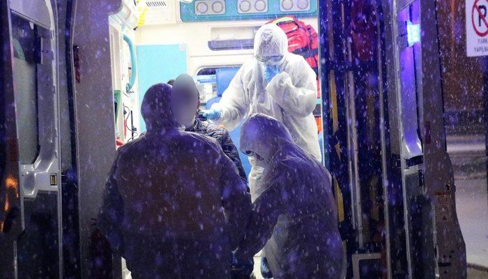 Karantinadaki hasta kaçtı, polis alarma geçti