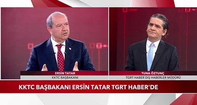 KKTC Başbakanı Ersin Tatar'dan önemli açıklamalar