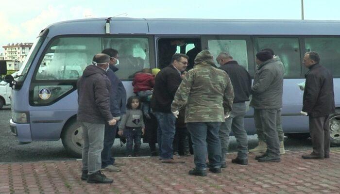 KKTC'de mültecileri taşıyan tekne yan yattı