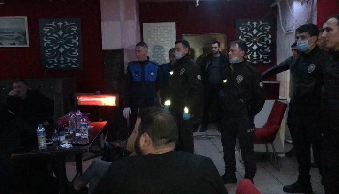 Koronavirüs tedbirlerine uymayan gece kulübüne operasyon: 20 gözaltı