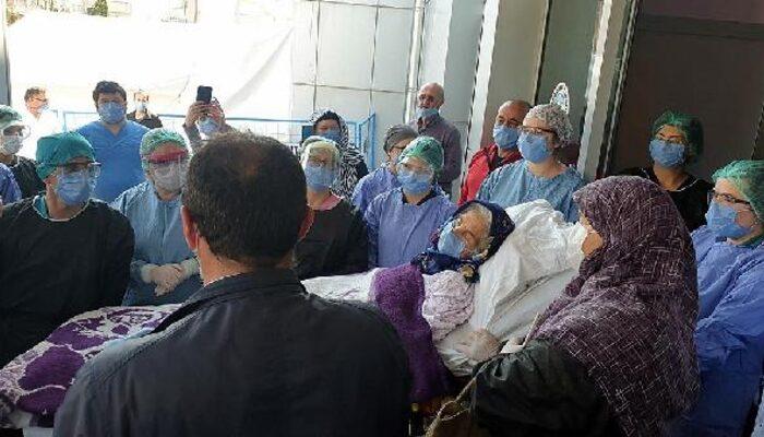 Koronavirüsü yenen 92 yaşındaki Bahriye Kaya'dan acı haber