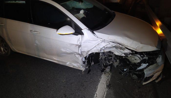 Makas atan sürücü zincirleme kazaya neden oldu! Olay yerinden kaçtı