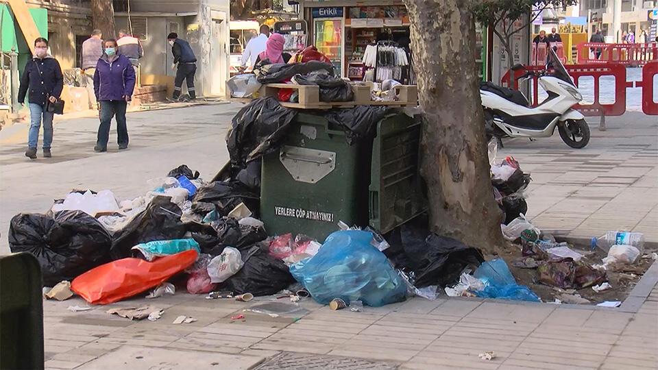 Maltepe Belediyesi'nde grev: Çöpler toplanmıyor
