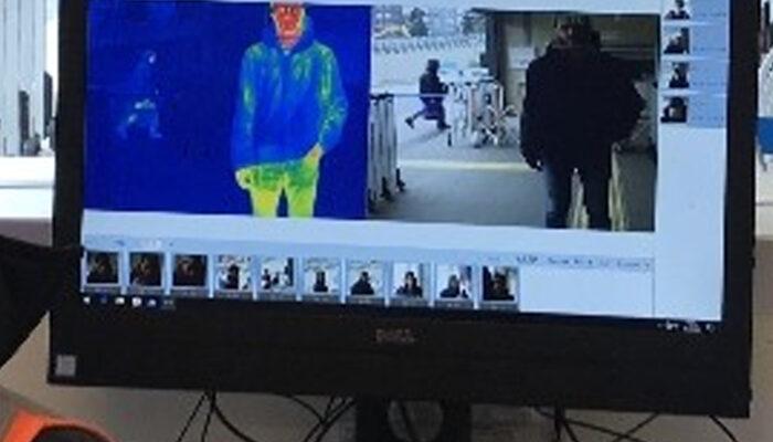 Marmaray'da koronavirüs önlemi! Termal kamera yerleştirildi