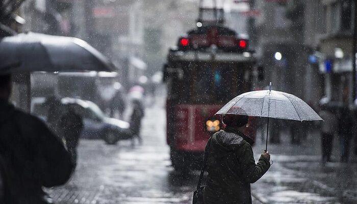 Meteoroloji'den İstanbul için yağış uyarısı! (21 Mart 2020 yurtta hava durumu)