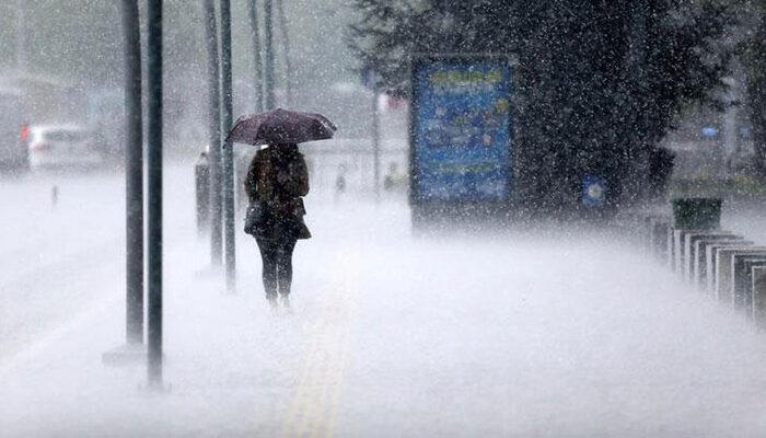 Meteoroloji'den sağanak ve kar uyarısı! Bölgeleri tek tek sıraladı ve...