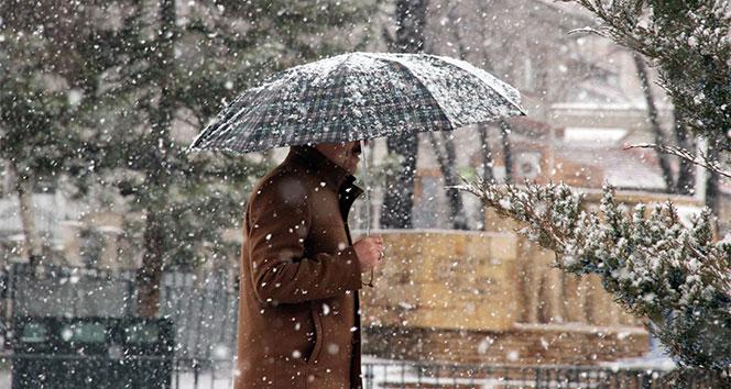 Meteorolojiden kar ve karla karışık yağmur uyarısı