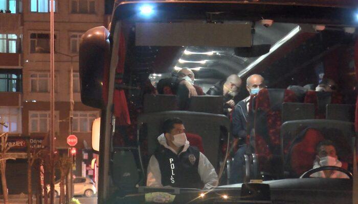 Mısır'dan getirilen 164 Türk vatandaşı karantina yurduna yerleştirildi