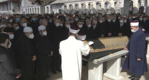 Muhammed Emin Saraç'a son görev