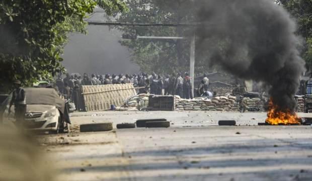 Myanmar'daki darbe karşıtı gösterilerde ölü sayısı 38'e yükseldi