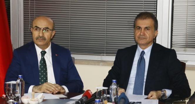 Ömer Çelik: 'Adana'ya 41 milyonluk hibe şeklinde yardımlar yapılmaktadır'