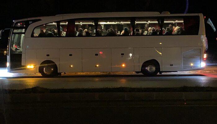 Otobüs şoförü koronavirüs şüphesiyle hastaneye kaldırıldı