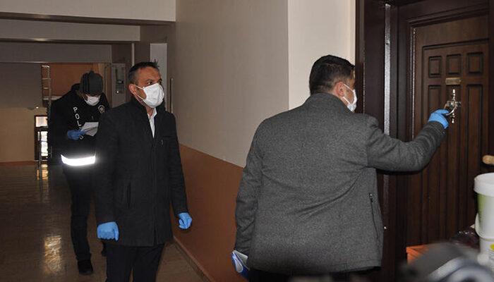 Özel ekipler, koronavirüs tedbirleri kapsamında yurt dışından dönenleri takibe aldı