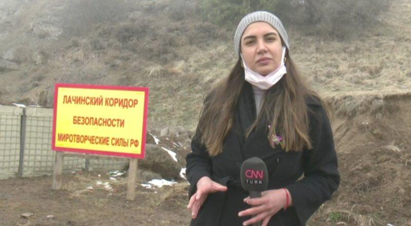 Özel Haber... CNN TÜRK Laçin koridorunda