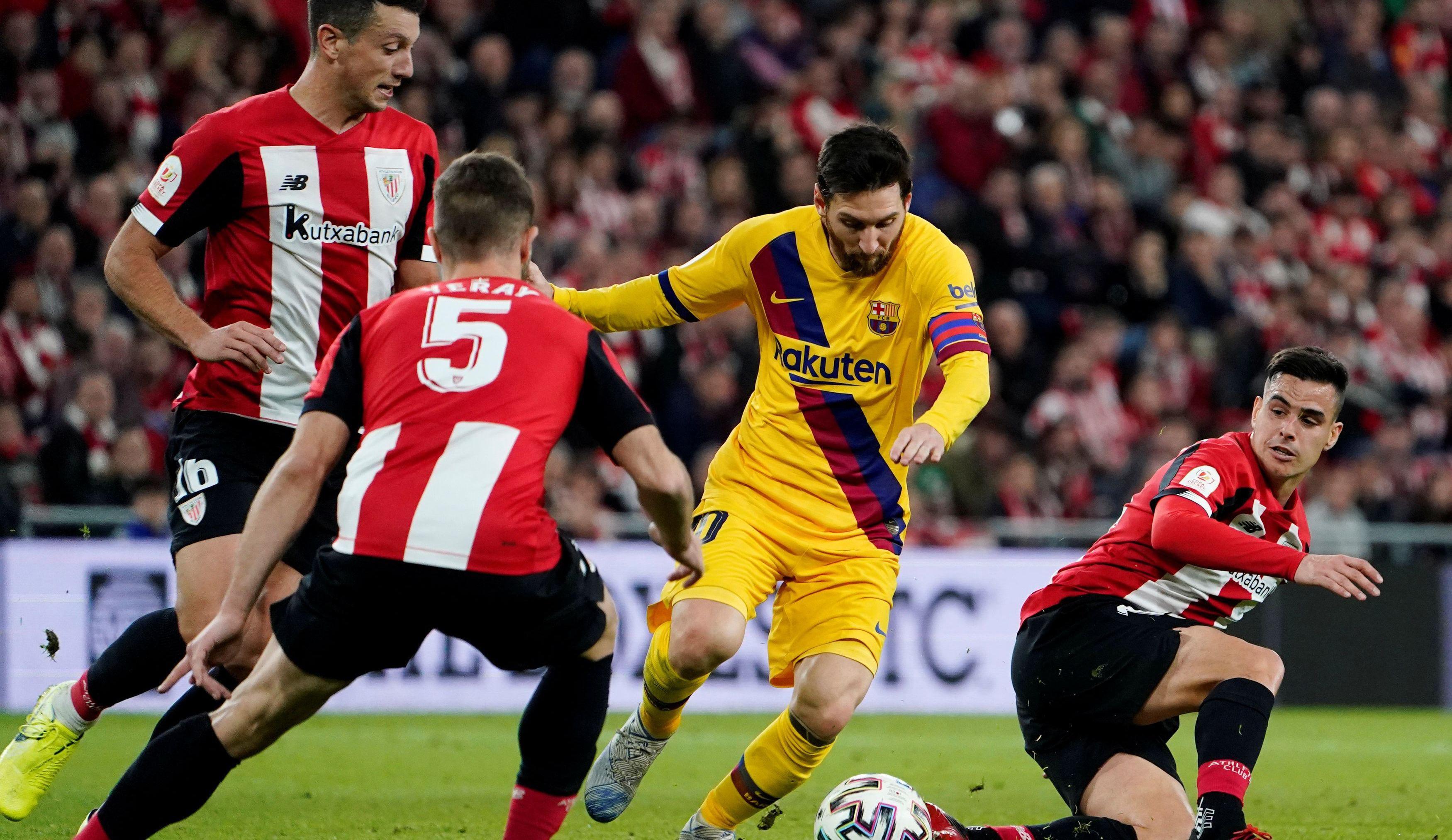 (ÖZET) Athletic Bilbao, Barcelona'yı 90+3te vurdu!