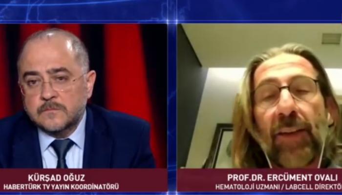 Prof. Dr. Ercüment Ovalı: 40 yıl sonra ilk defa bir aşıyı ürettik ve test aşamasına getirdik