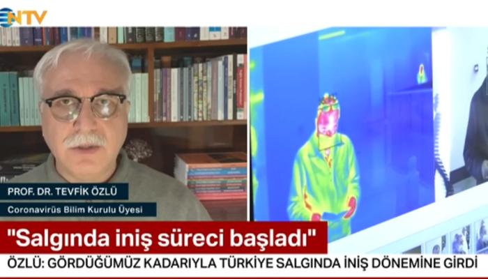 Prof. Dr. Tevfik Özlü: Salgında zirve noktasına ulaştık, iniş süreci başladı